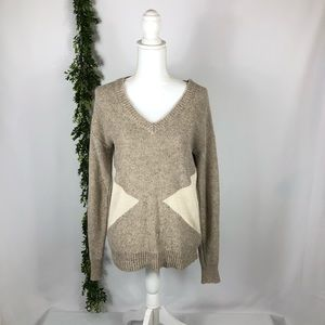 Forever 21 sweater cream size medium